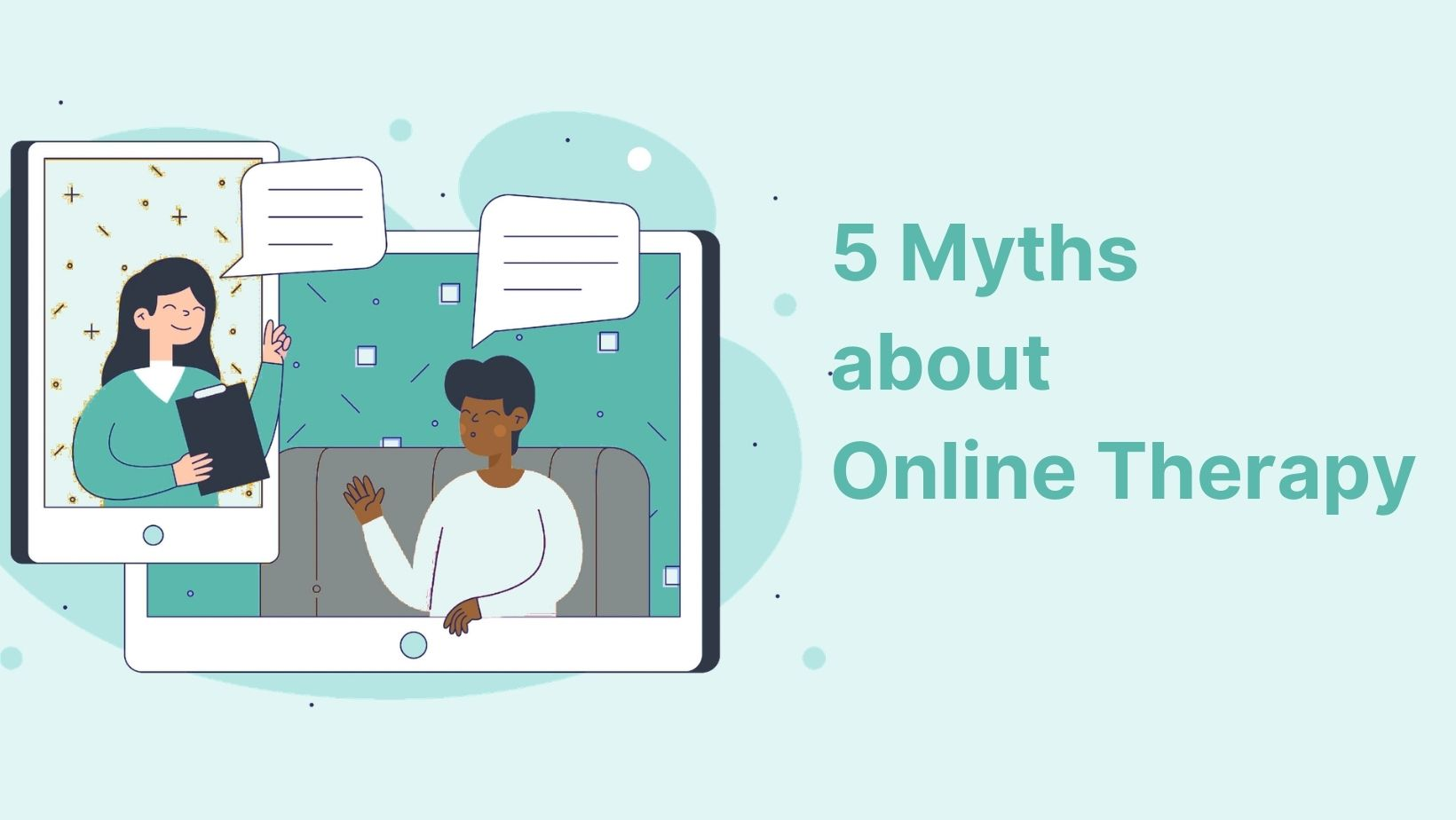 Online therapy misconceptions
