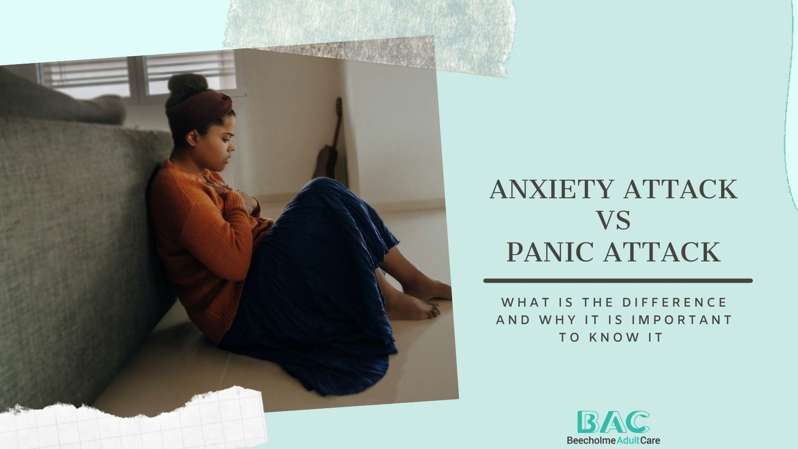 Panic attacks and anxiety attacks